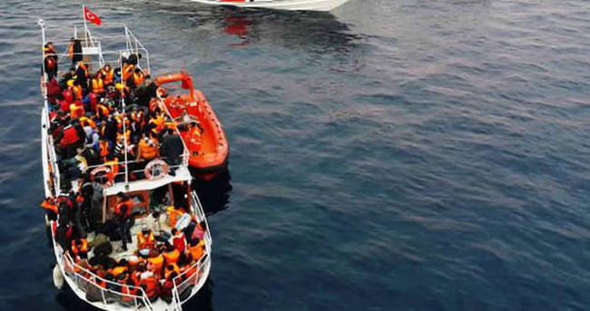 2 bin 150 mülteciyi kurtardı