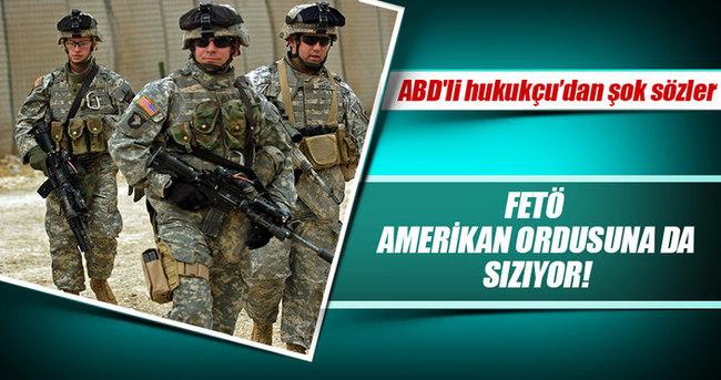 ABD'li hukukçu: FETÖ Amerikan ordusuna da sızıyor