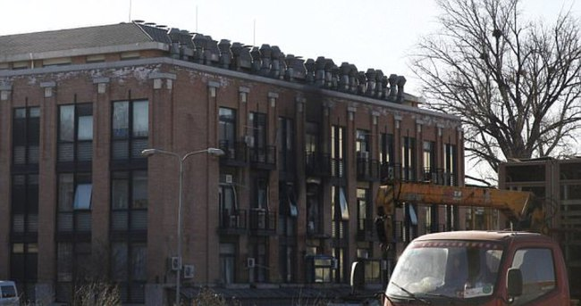 DAEŞ, Musul'da üniversite binasını patlattı