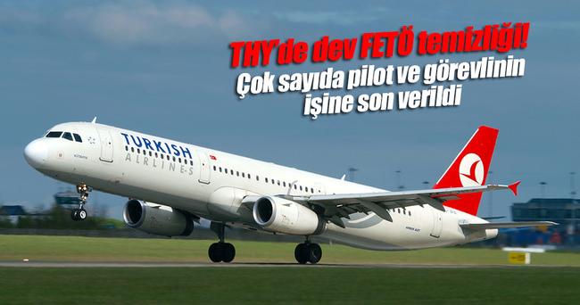 THY'de 15'i pilot 211 personelin işine son verildi
