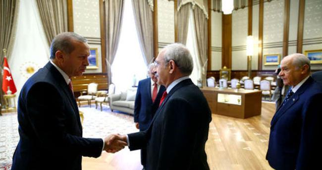 Cumhurbaşkanı Erdoğan'dan Kılıçdaroğlu'na tebrik
