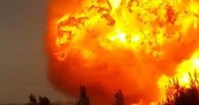 Nijerya'da doğalgaz boru hatında patlama!