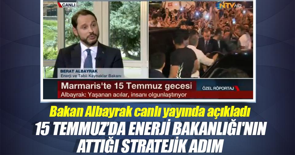 Enerji Bakanı Albayrak: Türkiye'nin stratejik beraberliği her zamankinden daha kıymetli