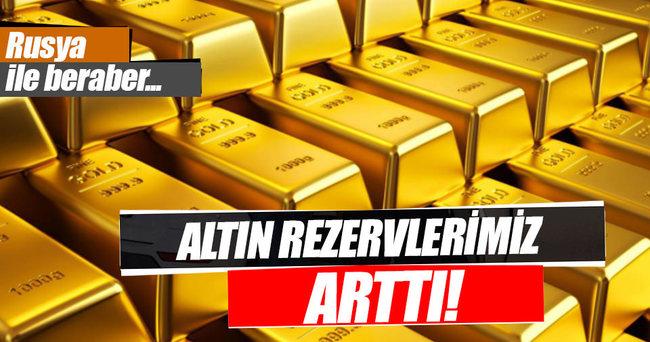 Türkiye'nin altın rezervleri arttı!