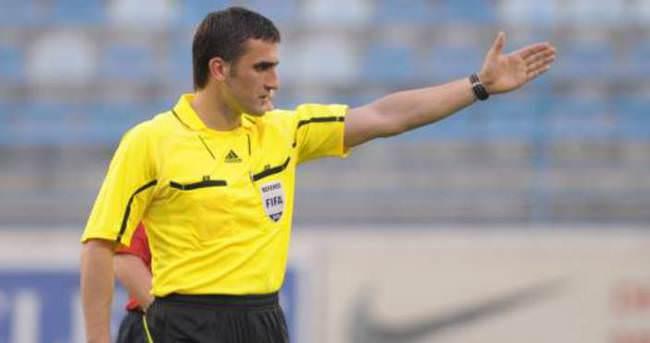 Osmanlıspor - Nomme Kalju maçına Karadağlı hakem