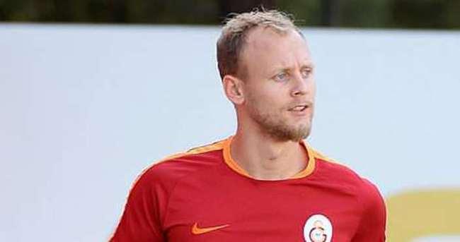 Galatasaray'ın Danimarka kampında Semih sevinci