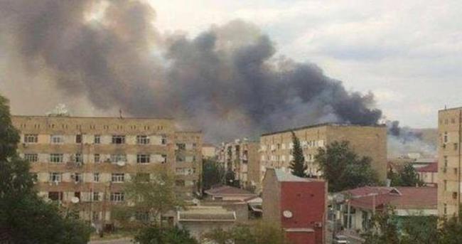 Azerbancan'da Patlama