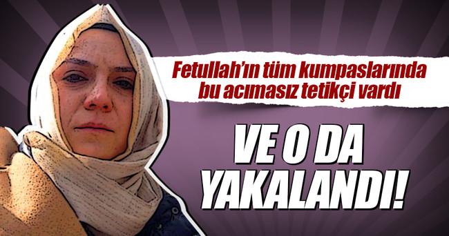 Hanım Büşra Erdal yakalandı