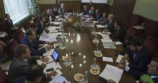 Başbakan Yardımcısı Şimşek ve Bakan Zeybekci Moskova'da