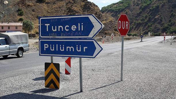 Tunceli'de bazı yollar ulaşıma kapatıldı!