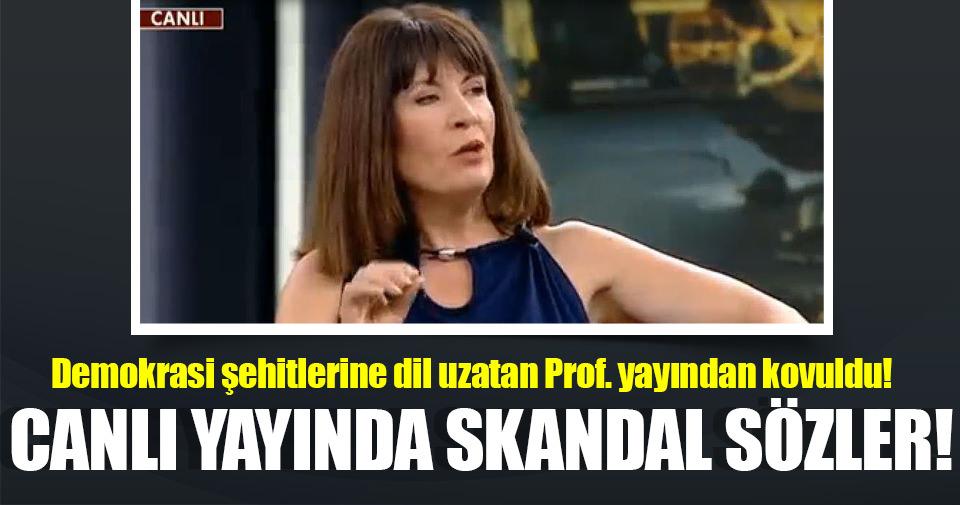 Nurşen Mazıcı demokrasi şehitlerini aşağıladı