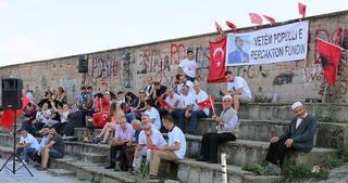 Preşeva bölgesinden Cumhurbaşkanı Erdoğan'a destek