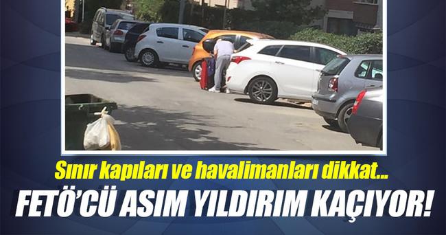 DİKKAT ASIM YILDIRIM KAÇIYOR!