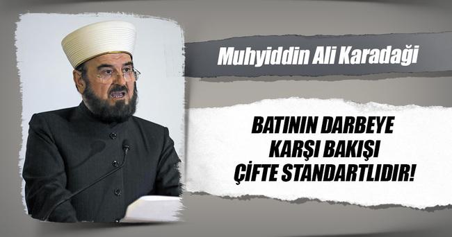 'BATININ POLİTİKASI MAKYAVELİST VE ÇİFTE STANDARTLARA DAYALI'