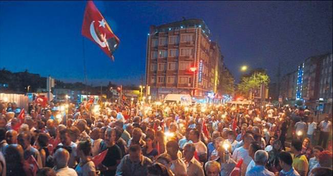 Burdur'da yürekler bir oldu