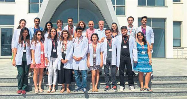 Türkiye'den doktor adayları KKTC'de