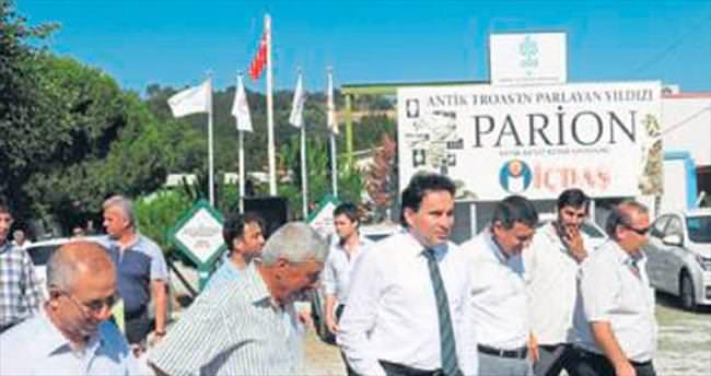 Parion turizme kazandırılıyor