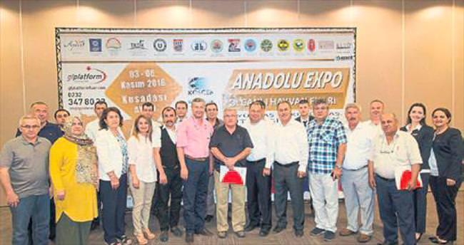Hayvancılık sektörü Aydın'da buluşacak