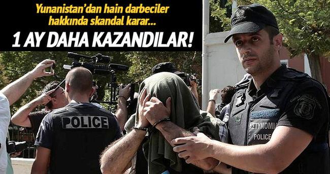 Yunanistan 8 darbeci askerin iltica mülakatlarını erteledi