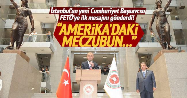İstanbul Cumhuriyet Başsavcılığı'nda devir teslim töreni düzenlendi