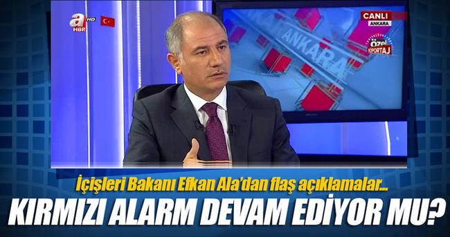 İçişleri Bakanı Efkan Ala tutuklu sayısını açıkladı