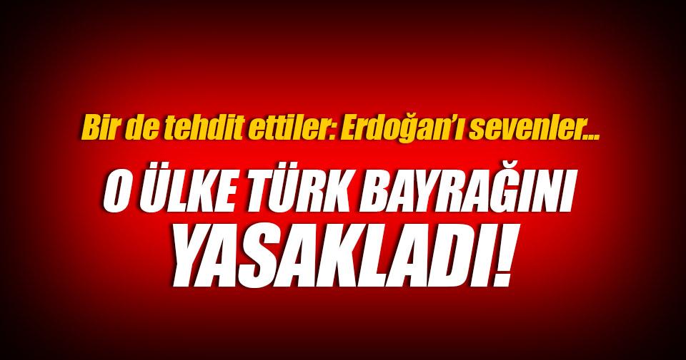 Avusturya Türk bayrağını yasakladı