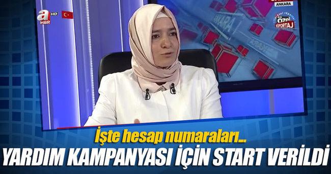 Aile Bakanı Fatma Betül Sayan: Yardım kampanyası başladı