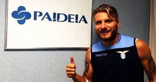 Lazio, Immobile'yi kadrosuna kattı