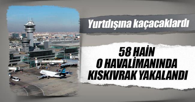 58 hain Atatürk Havalimanı'nda yakalandı