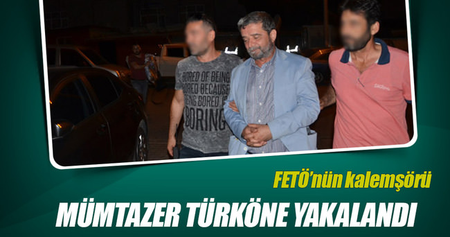 Mümtazer Türköne yakalandı