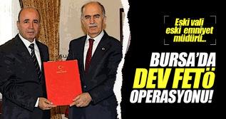 Bursa'da dev FETÖ operasyonu!