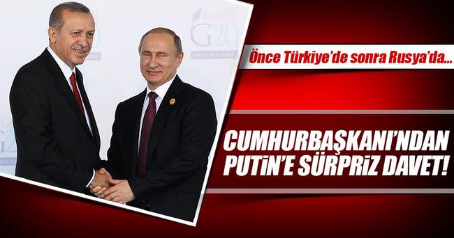 Cumhurbaşkanı Erdoğan, Putin'i o maça davet edecek