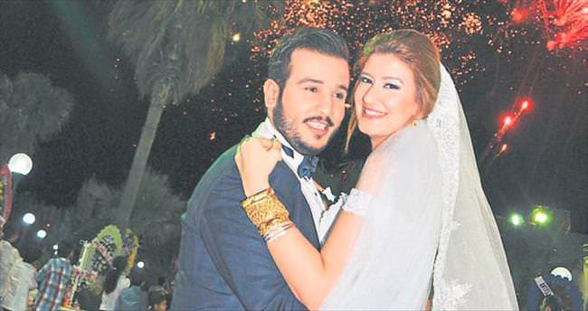Ahmet ile Elif'in görkemli düğünü