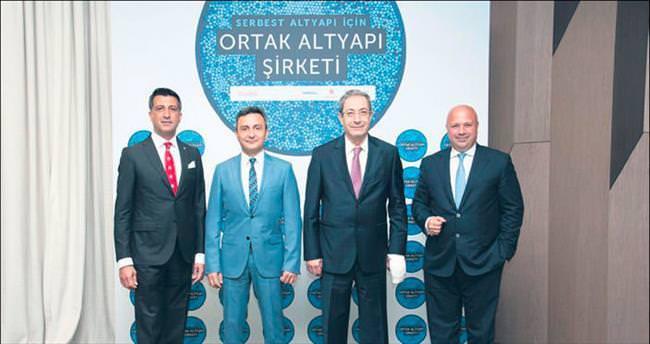 Ortak altyapı için devlerden işbirliği