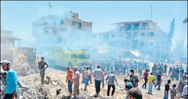 Suriye'de bombalı saldırı: 55 ölü