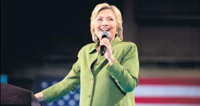 Hillary Clinton şimdiden tarih yazdı