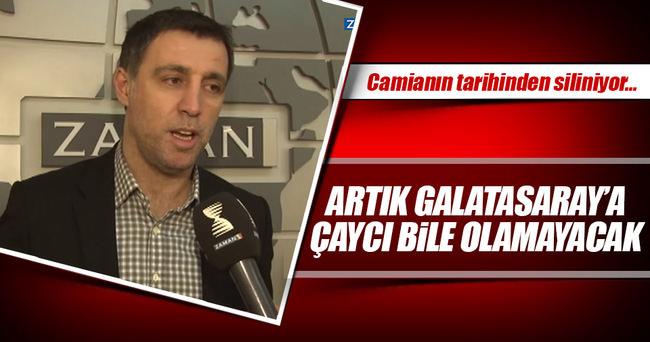 Hakan Şükür, Galatasaray tarihinden siliniyor