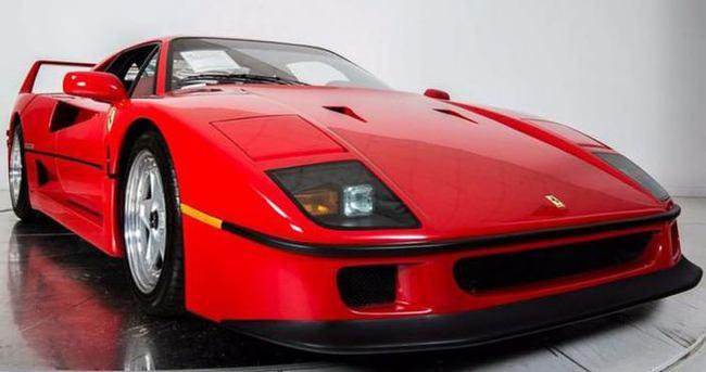 90 model Ferrari'ye dudak uçuklatan fiyat