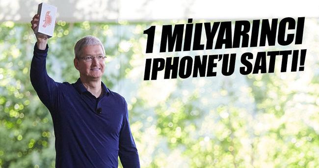 Apple 1 milyarıncı iPhone'u sattı!