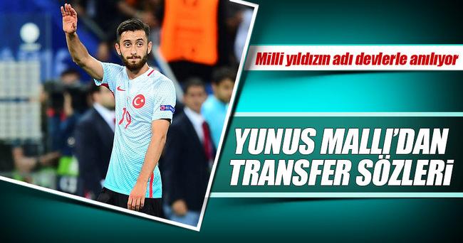Yunus Mallı'dan transfer iddialarına cevap