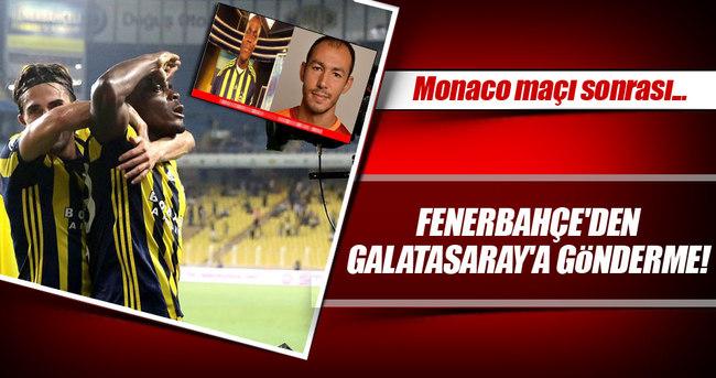 Fenerbahçe - Monaco maçı caps'leri