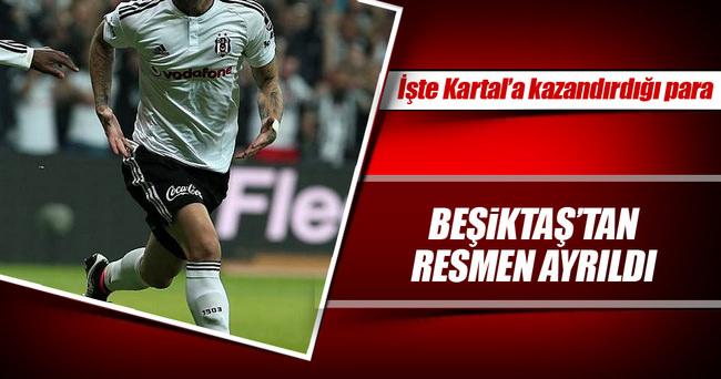 Alexis Delgado Beşiktaş'tan resmen ayrıldı