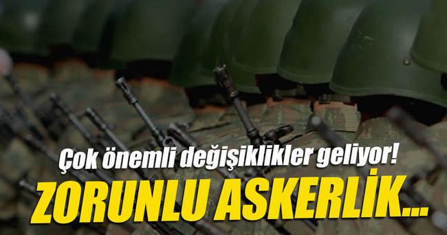 ASKERLİK SÜRESİ KISALIYOR! TSK'YA İHL'LİLER GELİYOR