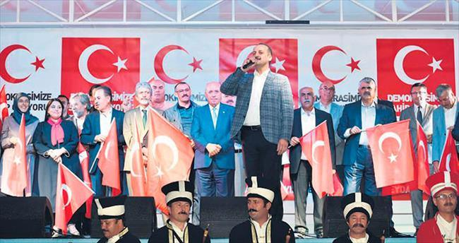 """Belediye başkanları """"Türkiyem"""" dedi"""