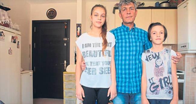 İki kızının gözleri önünde öldürüldü