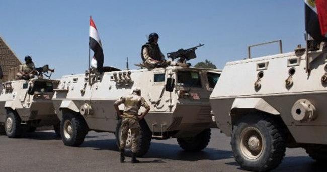 Mısır ordusundan Sina operasyonu