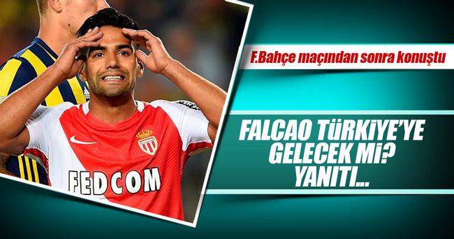 Falcao, Beşiktaş'a gelecek mi? Yanıtladı...