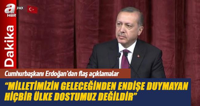 Cumhurbaşkanı Erdoğan: 15 Temmuz milat olmalı