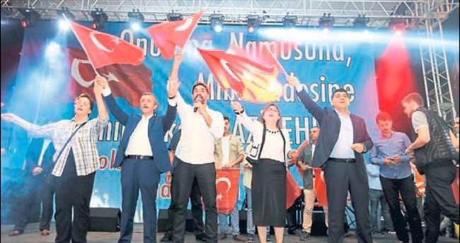 Işılak ve Malkoç da Gaziantep'te nöbette