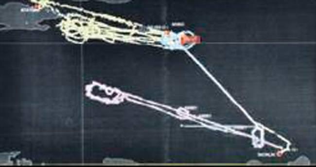 İncirlik Üssü'nden kalkan tanker uçaklarının radar kaydı ortaya çıktı